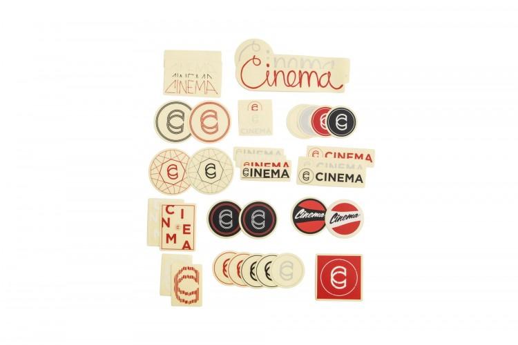 Pegatinas Cinema Cinema