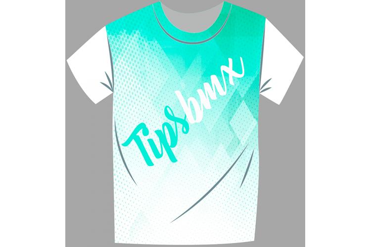 Camiseta Tipsbmx Logo -...